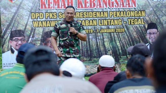 Danramil Kobarkan Semangat Bela Negara kepada 130 Kader PKS